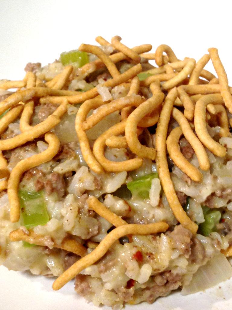 chow-mein-hamburger-hot-dish