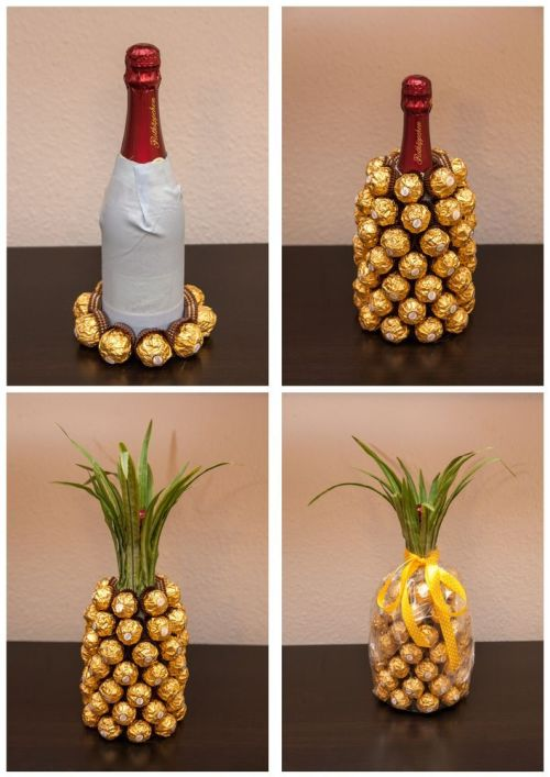 diy-champage-bottle-pineapple