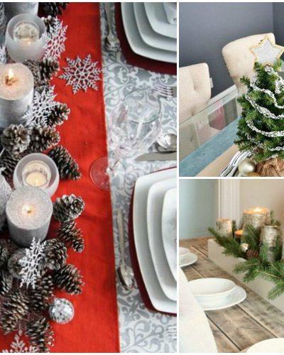 Christmas Table Decoration Ideas.8 Diy Christmas Table Decoration Ideas Forks N Flip Flops