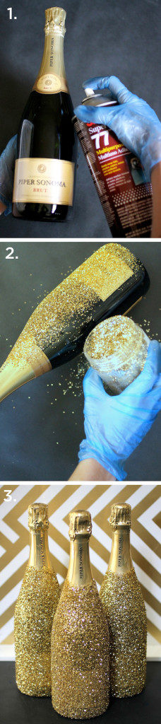 DIY-Glitter-Champagne-Bottle