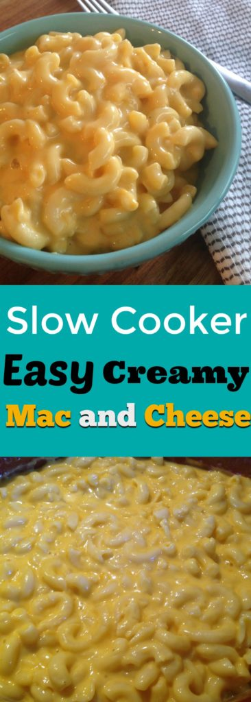 Slow Cooker Easy Creamy Mac and Cheese