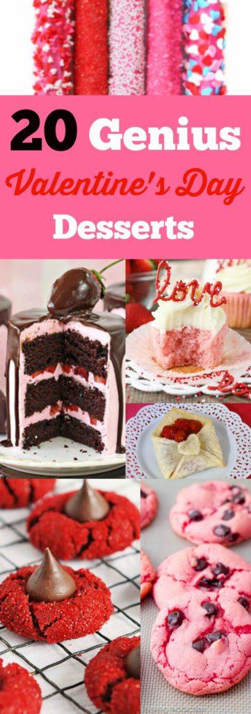 20 Genius Valentines Day Desserts