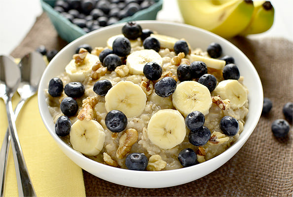 Blueberry-Banana-Nut-Oatmeal