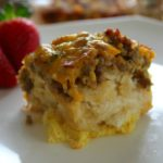 Sausage Biscuit and Egg Casserole