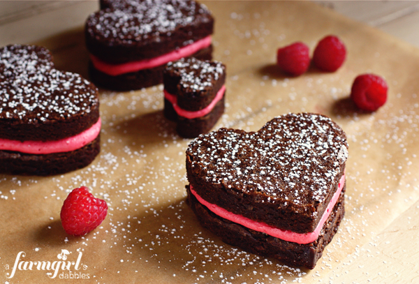 brownie_hearts_with_fresh_raspberry_buttercream