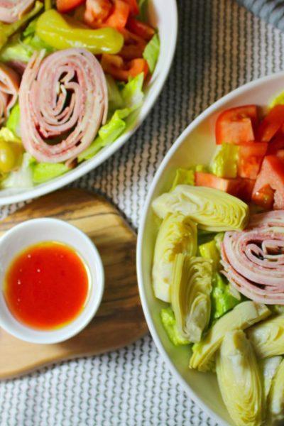 Antipasto Pinwheel Salad
