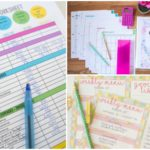 Budget Printable Organization Worksheets