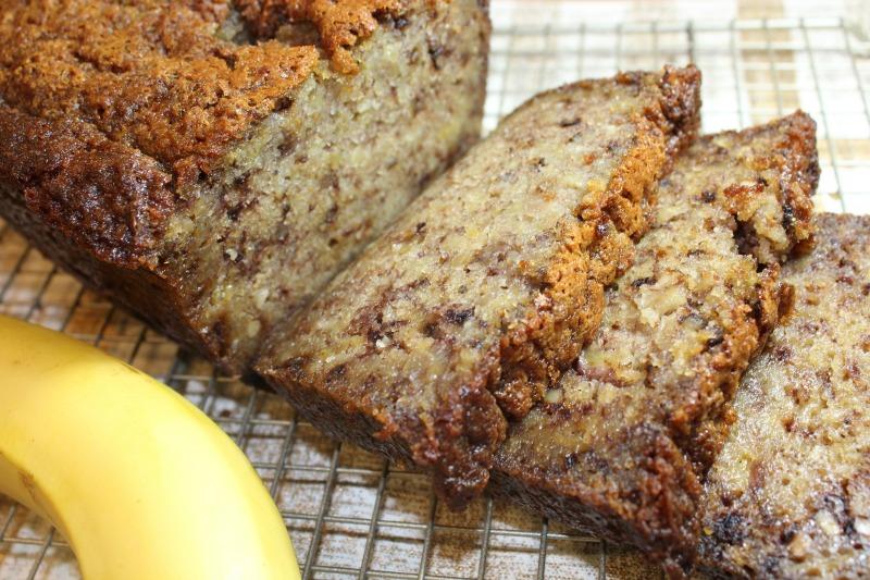 Unbelievably Moist Banana Bread Forks N Flip Flops