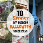 10 Spooky DIY Outdoor Halloween Decor Ideas