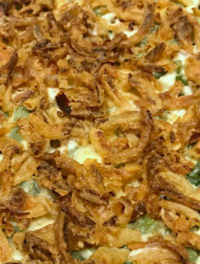 30 Minute Green Bean Casserole