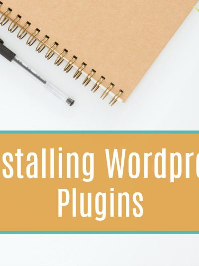 Start A Blog: Installing WordPress Plugins