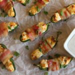 Cheesy Bacon Wrapped Jalapeno Poppers - Featured