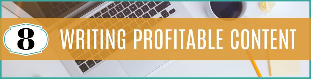 Writing Profitable Content