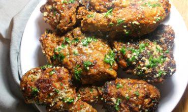 Garlic Fried Chicken - Featured