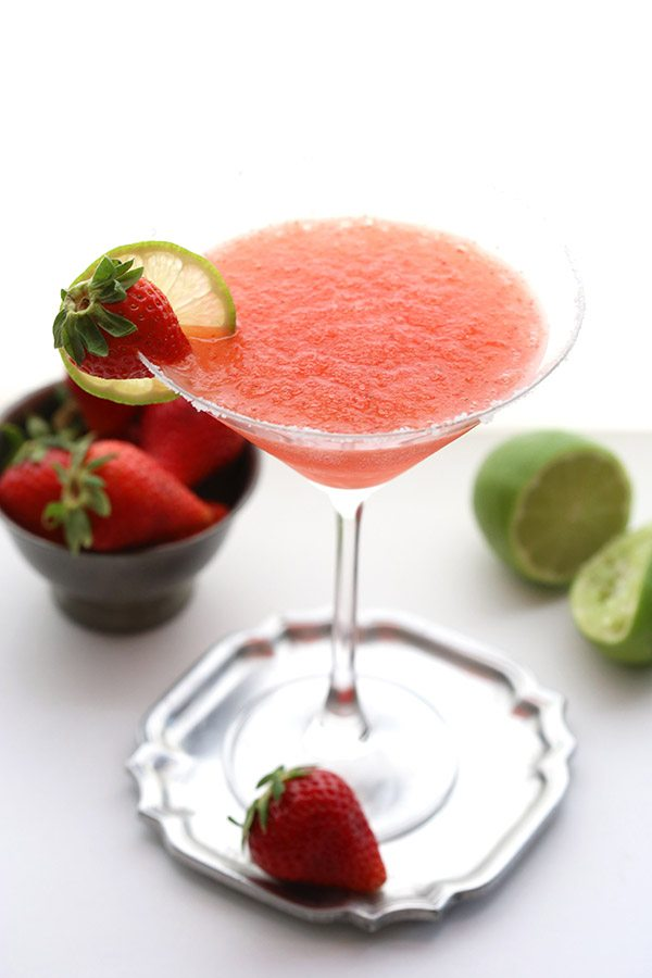 Low-Carb-Strawberry-Margaritas