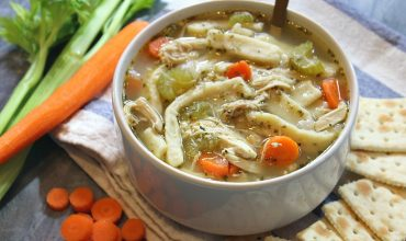 Chicken Noodle Soup - Featured